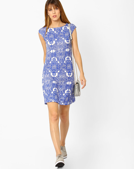 Printed Sheath Dress By And ( Multi )