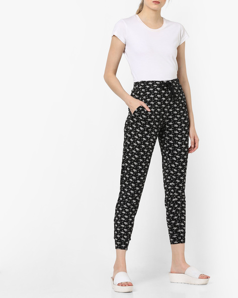 Drawstring Pyjamas With Pockets By Ginger By Lifestyle ( Black )
