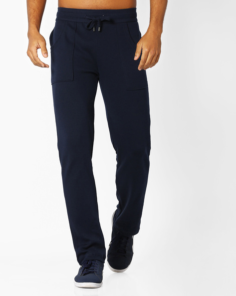 Slim Fit Quickdry Track Pants By Jockey ( Navyblue )