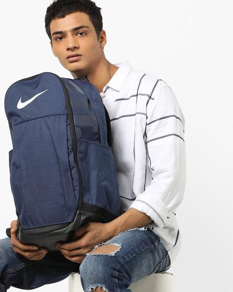 Nike Brasilia Training Backpack By NIKE ( Blue )