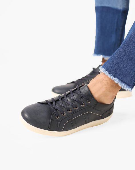 Panelled Lace-Up Shoes By Bond Street By Red Tape ( Navy )