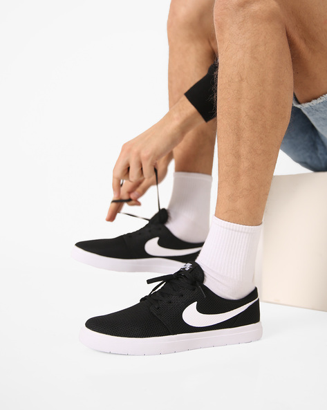 Portmore Ultra-Light Sports Shoes By NIKE ( Black )