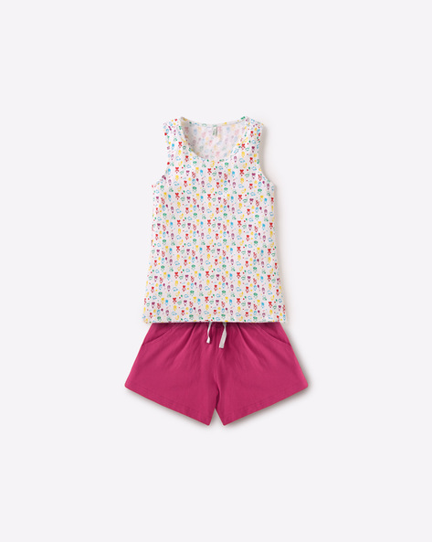 All-Over Print Lounge Set By Under Colors Of Benetton ( Multi )