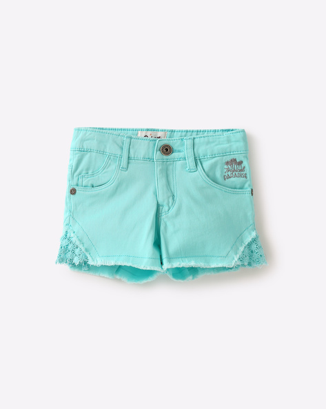 Shorts With Lace Panels By GINI & JONY ( Assorted )