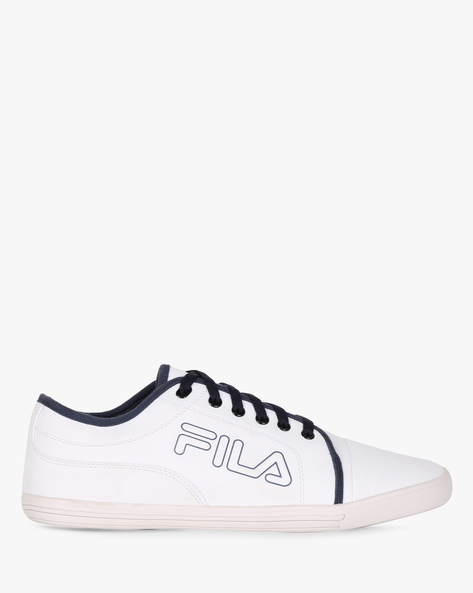 Lavadro IV Casual Lace-Up Shoes By FILA ( White )
