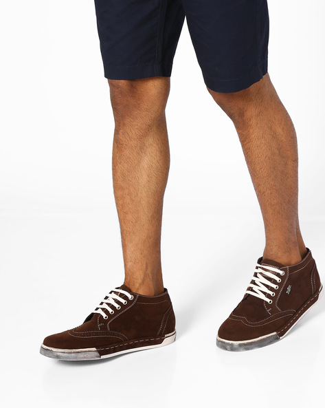 Sneakers With Brouging By BCK By Buckaroo ( Brown )