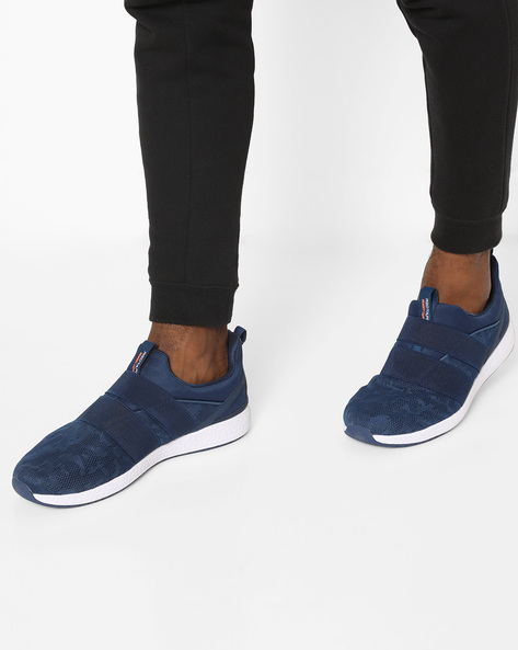 Athleisure Sports Range Slip-On Running Shoes By RED TAPE ( Blue )