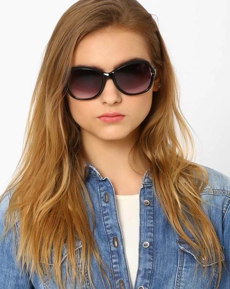 Oversized Sunglasses By Joe Black ( Black )