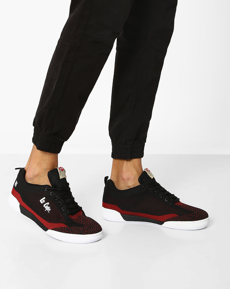 Lace-Up Sports Shoes By Lee Cooper ( Rubyblack )
