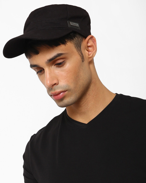 Trucker Cap With Metallic Branding By WRANGLER ( Black )