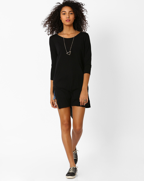 High-Low Top By Only ( Black )
