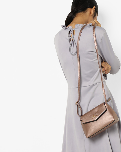 Flap-Front Sling Bag By Lavie ( Copper )