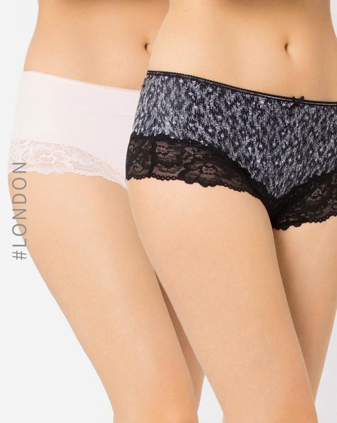 Pack Of 2 Brazilian Panties By Marks & Spencer ( Black )