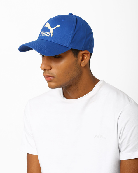 Snapback Cap With Embroidery & Applique By Puma ( Blue )