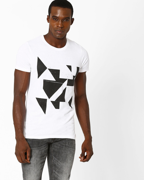 Brentford Compact Cotton Slim T-shirt By SON OF A NOBLE ( White )