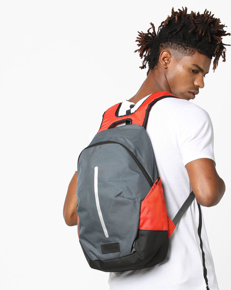 Laptop Backpack With Adjustable Straps By WRANGLER ( Grey )