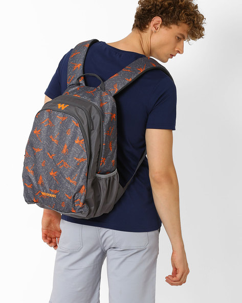 Nature 2 Backpack By Wildcraft ( Orange )