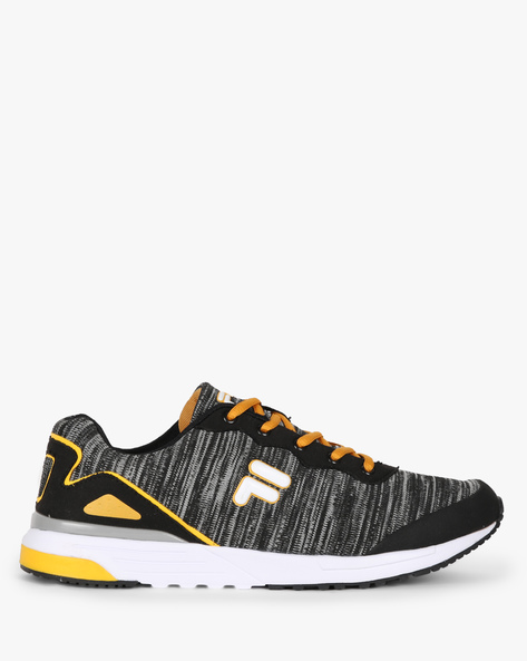 Oliver Mid-Top Panelled Sneakers By FILA ( Black )