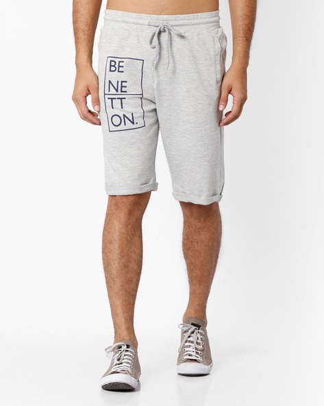 Bermuda Shorts With Upturned Hems By Under Colors Of Benetton ( Grey )