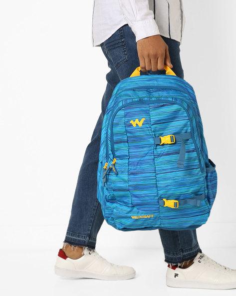 Backpack With Adjustable Shoulder Straps By Wildcraft ( Blue )