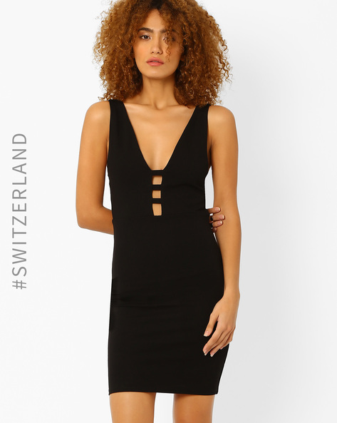 Bodycon Dress With Cut-Outs By TALLY WEiJL ( Black )