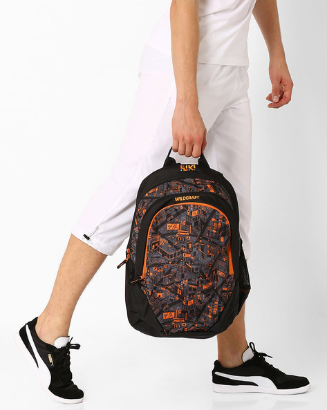 City 2 Backpack By Wildcraft ( Black )