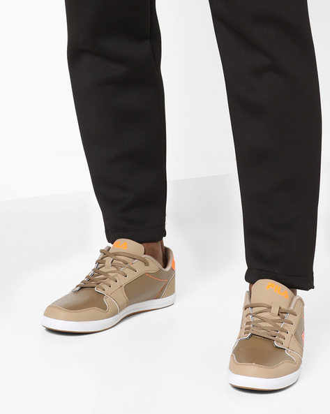 Erwan Lace-Up Casual Shoes By FILA ( Brown )