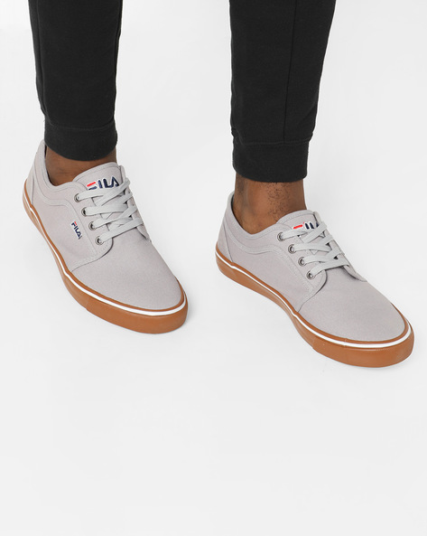 Lace-Up Casual Shoes By FILA ( Brown ) - 460149528001