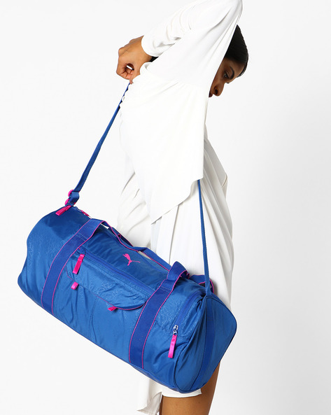 Fit AT Sports Duffle Bag By Puma ( Blue )