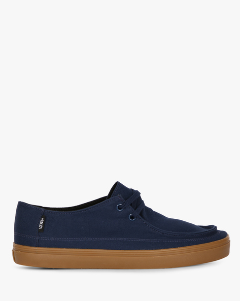 Rata Vulc SF Lace-Up Casual Shoes By Vans ( Blue )