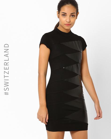 Bodycon Milano Dress By TALLY WEiJL ( Black )