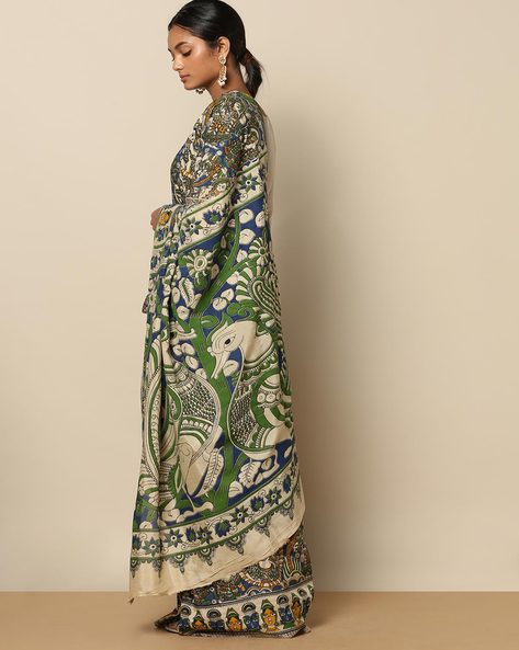 RUDR WOMEN SAREES, OFF WHITE, FS By Rudrakaashe-MSU ( Offwhite )