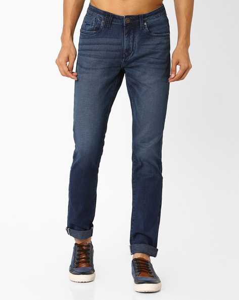 FLYING MACHINE Mens 5 Pocket Stretch Jeans (Jackson Fit) Best Deals With Price Comparison Online ...