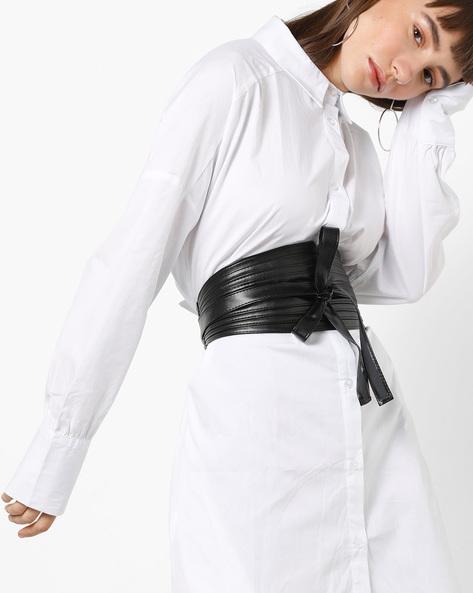 Panelled Obi Belt By TALLY WEiJL ( Black )