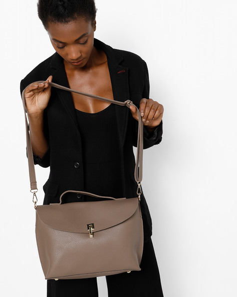 Sling Bag With Zip Pouch By Project Eve ( Multi )
