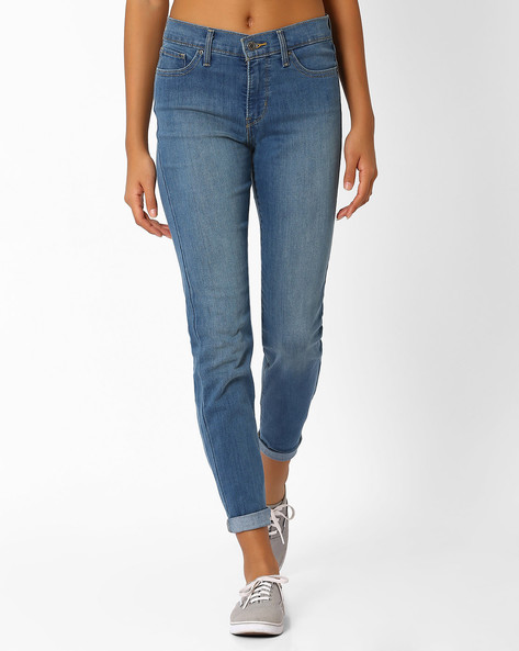 312 Lightly Washed Skinny Jeans By LEVIS ( Blue )