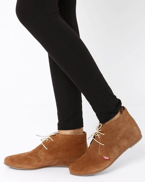 Desert Boots By Carlton London ( Tan )