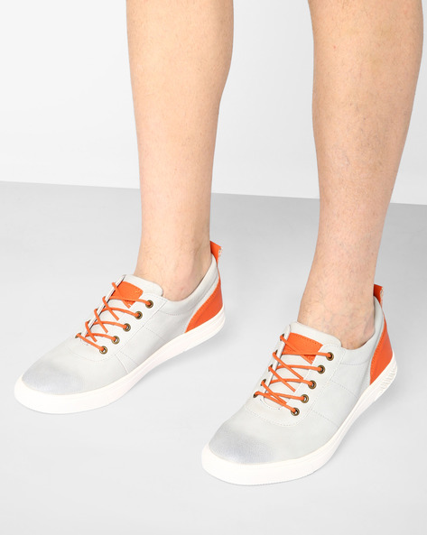 Sneakers With Lace-Ups By Nuboy ( Grey )