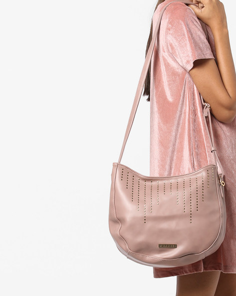 Nova Crossbody Sling Bag By CAPRESE ( Pink )