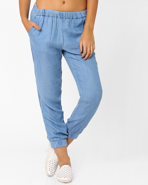Cuffed Pants By CHEMISTRY ( Blue )