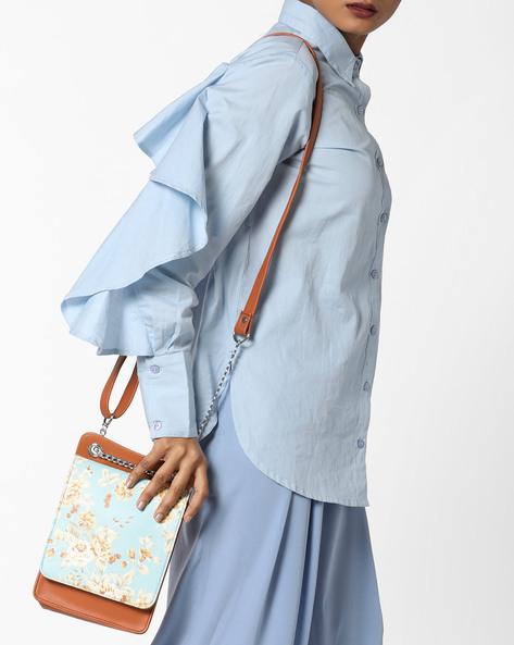 Printed Sling Bag By Toteteca ( Multi )