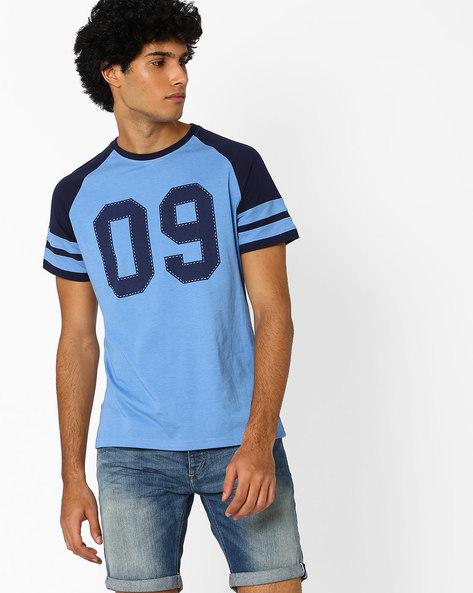 Colourblock Regular Fit T-shirt By Garcon ( Multi )