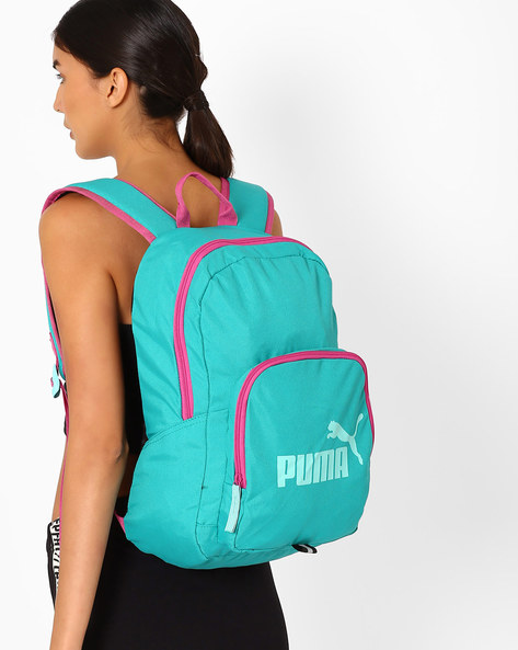 Phase Printed Backpack By Puma ( Turquoise )