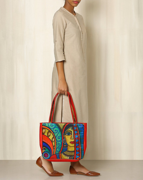 Digital Print Tote Bag By All Things Sundar ( Multi ) - 460040278001