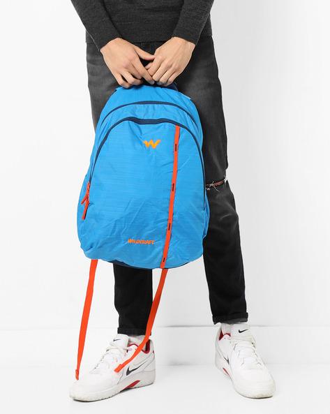 Backpack With Adjustable Shoulder Straps By Wildcraft ( Blue ) - 460169438002
