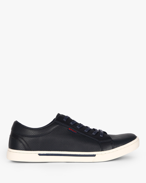 Adin Low-Top Casual Shoes By Spunk ( Navy )