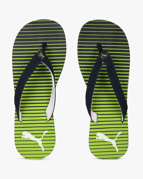 Thong-Style Flip-Flop Sandals By Puma ( Navyblue )