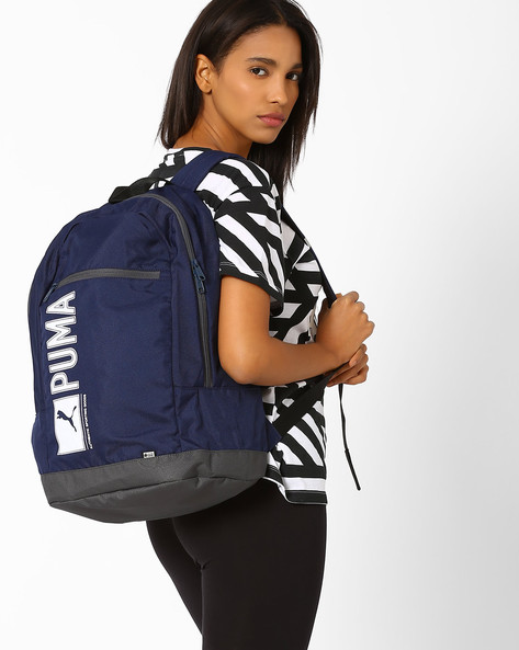 Laptop Backpack By Puma ( Navy )