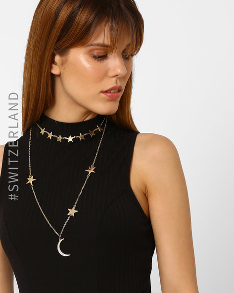 Necklace With Pendant By TALLY WEiJL ( Gold )