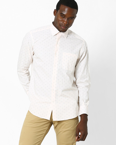 Adrian Classic Shirt By Wills Lifestyle ( Yellow )